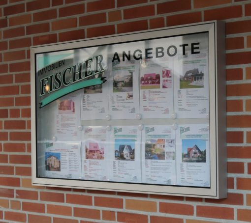 Außenschaukasten_wetterfest_Wandmontage