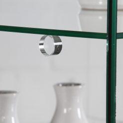 Glasronde für die Auflage der Fachböden