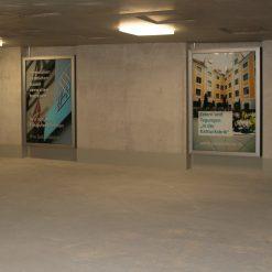 PUBLIC.CL5 Außenschaukasten für Wandmontage
