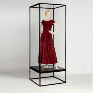 Vitrine für Mannequin